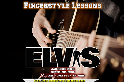 Elvis Presley's Classic songs here in Acoustic Finger Style