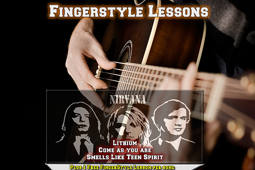 Nirvana 3 song Acoustic Lessons