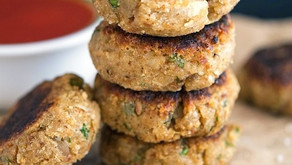 Eggplant & Quinoa Patties