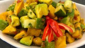 Mango & Avocado Fiesta Salad