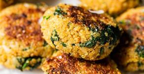 Quinoa & Spinach Patties