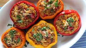 Baked Stuffed Bell Peppers