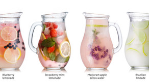 Infused Water & Ice Cubes