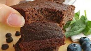 Flourless Spinach Brownies