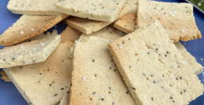 Almond and Chia Crackers