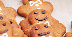 Whole Wheat Ginger Bread Men