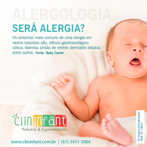 Post sobre alergia