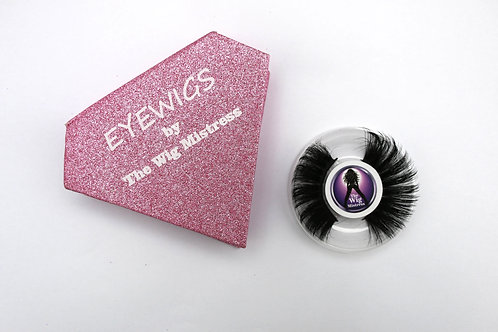 Pink eye wigs