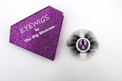 Purple eye wigs