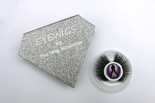 Silver eye wigs
