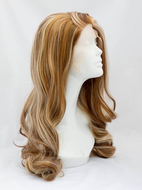 Dark blonde wig
