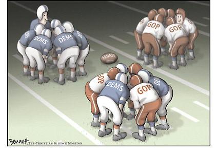 Super Bowl Politics : Hyperpartisanism