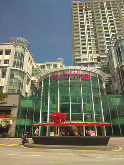 Publika Business Suite Entrance