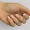 Thumbnail: Babyboom rosa Coarse Glitter