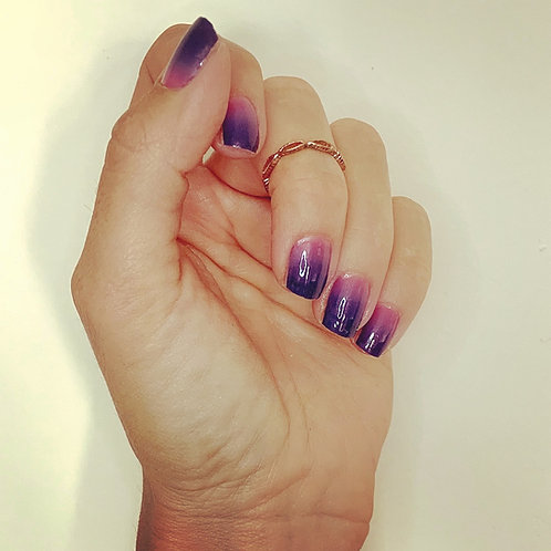 Ombre lilac