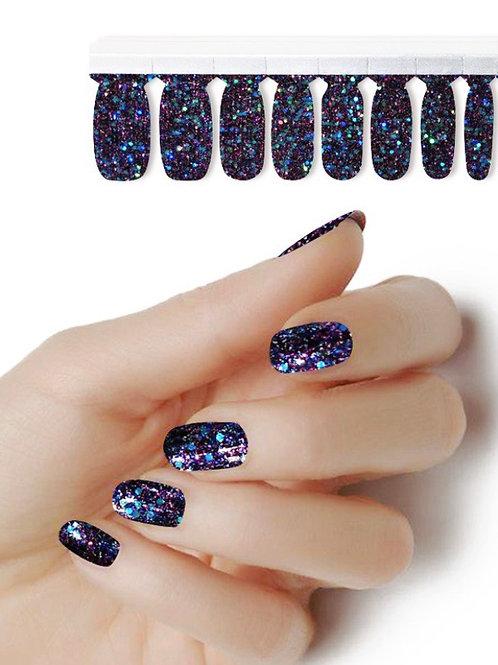 Glitter 4 me blue/black