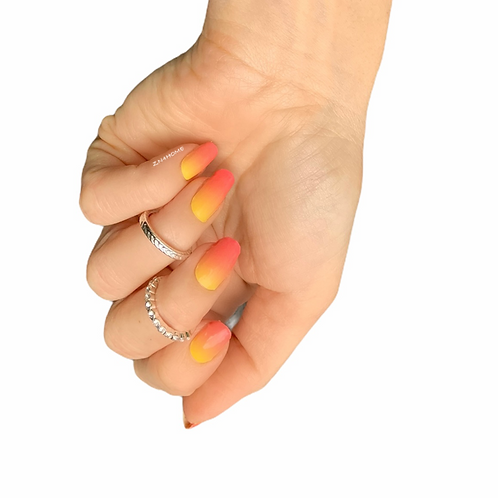 Pink-Yellow Ombre