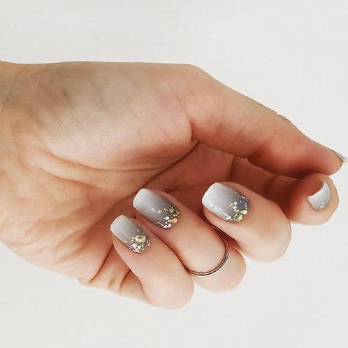 Babyboom Grey Coarse Glitter
