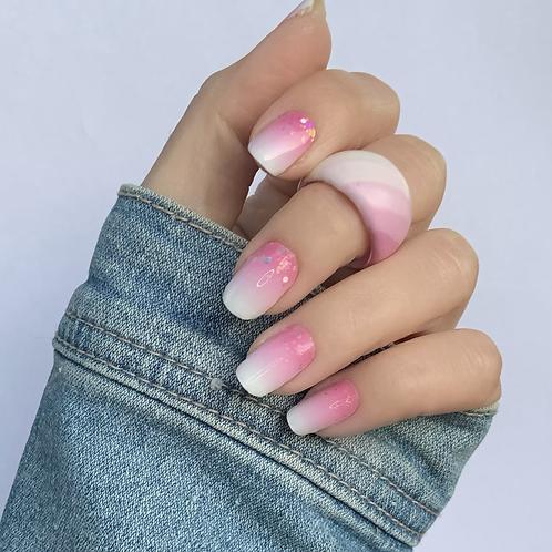 Babyboom pinky Coarse Glitter