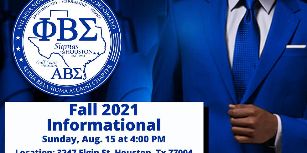 Fall 2021 Informational