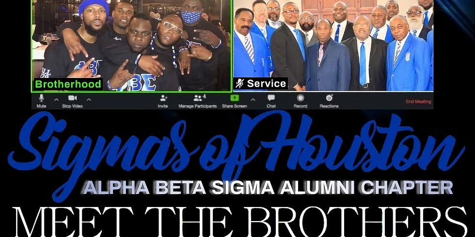 ABS Meet and Greet (Sigma Brothers ONLY)