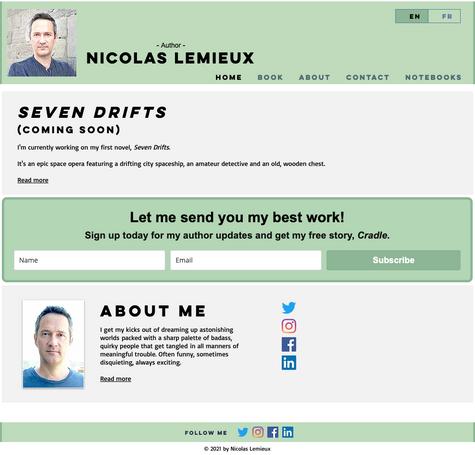 My Glider MVP Website