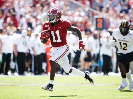 DeSimone: Why Henry Ruggs may be the WR the 49ers are after