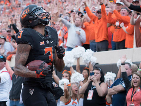 Profiling 49ers 2018 draft options: Marcell Ateman, WR, OK State