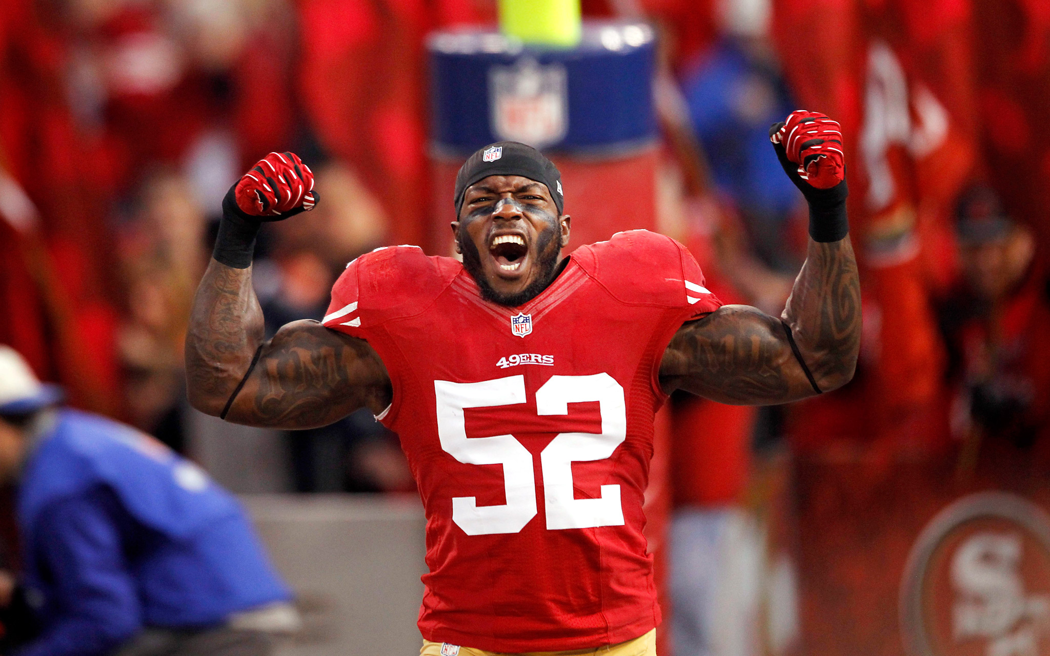 7a2e5a0d2 49ers defensive legend Patrick Willis and the Hall of Fame case ...