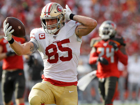 Breaking the Bank: Will the 49ers break organizational values to extend George Kittle?