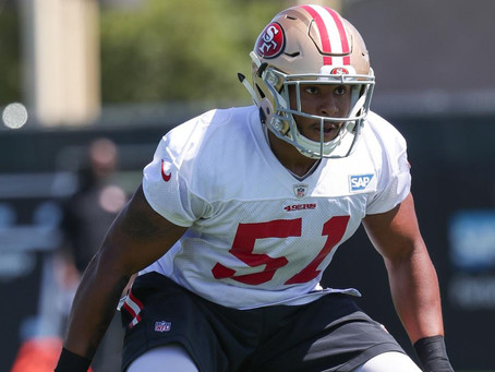 The 49ers are winning games and have idling talent stashed for the future