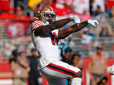Deebo Samuel has turned the page on the 49ers' wide receiver draft woes