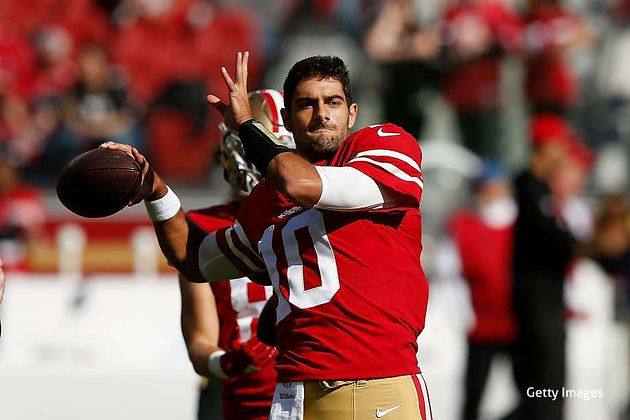 Jimmy Garoppolo struggles in preseason debut for 49ers with no passing yards