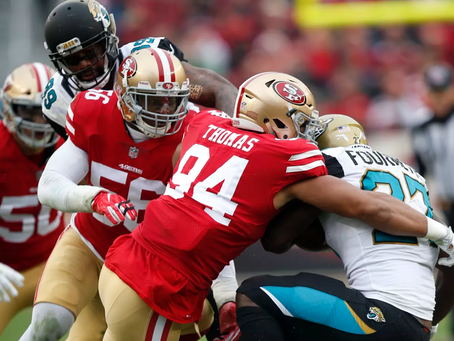 Year in Review: 49ers' Solomon Thomas (Part I: Outside vs. Run)