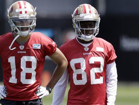 Niner in Focus: Richie James looks ready for a more prominent role