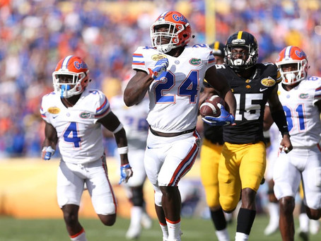 49ers attend Florida Pro Day with potential interest in big, athletic RB