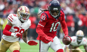 DeAndre Hopkins vs. 49ers' Adrian Colbert
