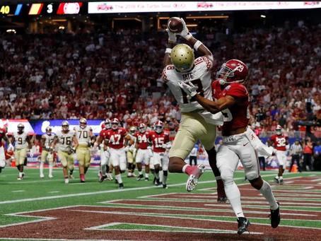 Profiling 49ers 2018 draft options: Auden Tate, WR, Florida State