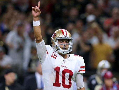 DeSimone: 49ers were in and should fear no man's land without Garoppolo