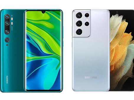 Najlepsze smartfony na 2021 rok