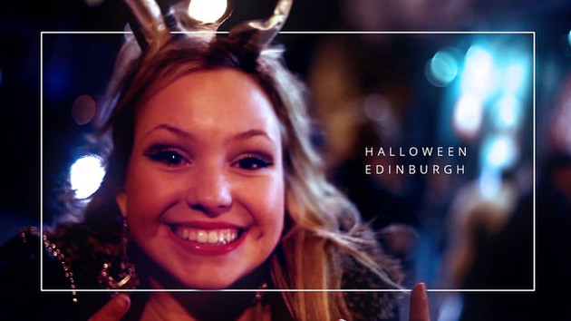 Halloween party video - Edinburgh