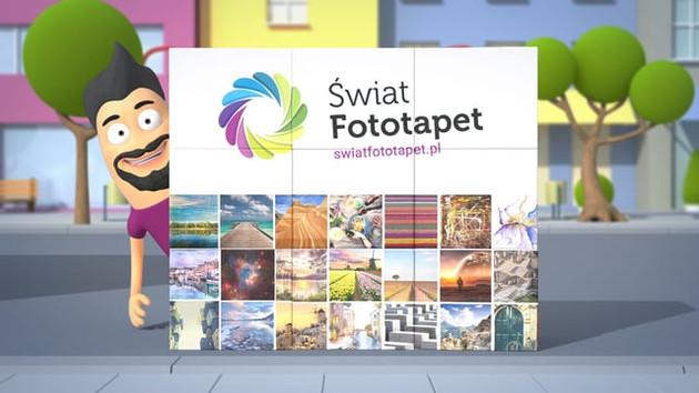 Świat fototapet - reklama dla social mediów