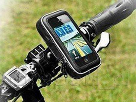 Na wycieczkę rowerem z uchwytem do smartfona