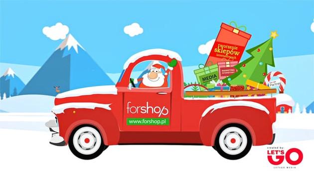 Świąteczna animacja dla Forshop