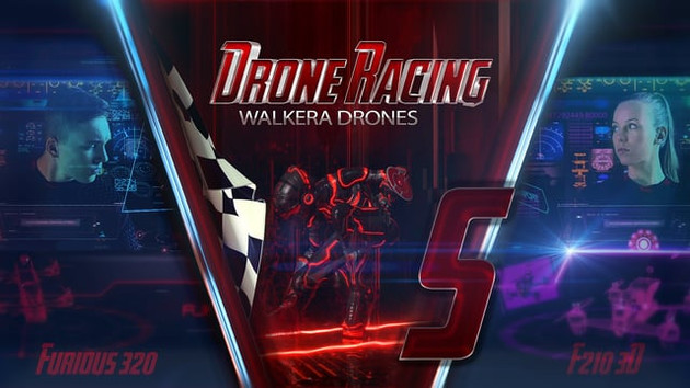 Walkera racing drones video