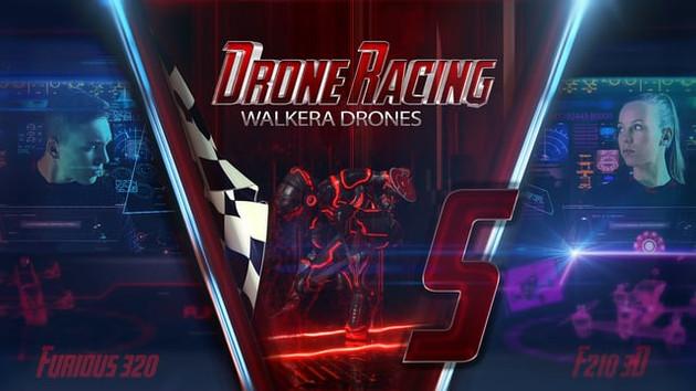 Walkera racing drones video