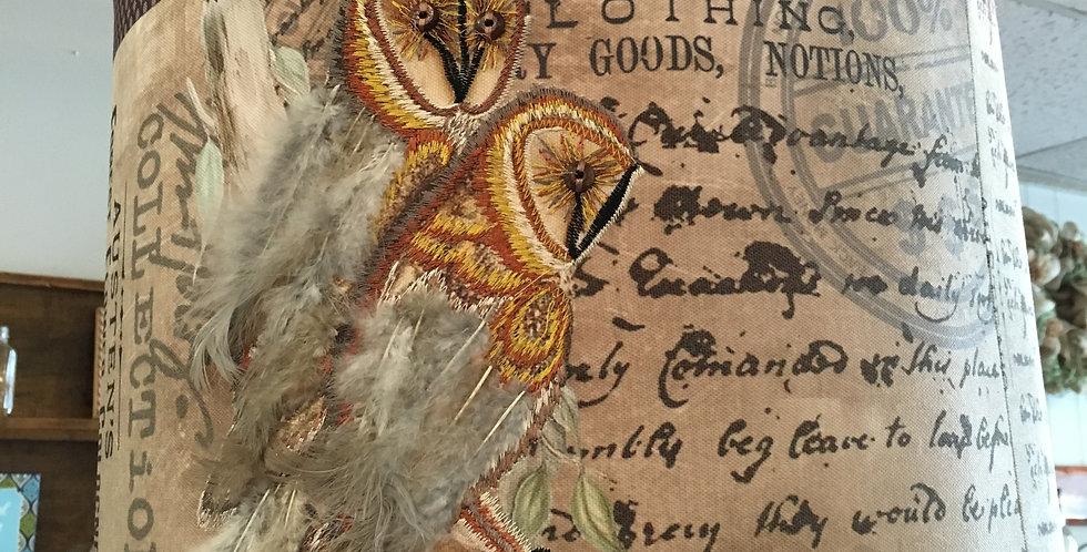 Owl Light Fixture