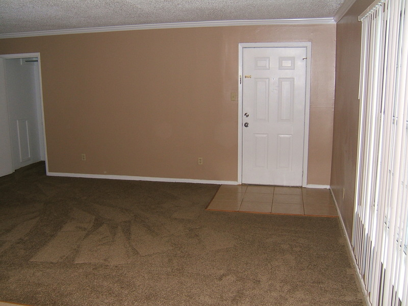 2 Bedroom Entry and Living Room