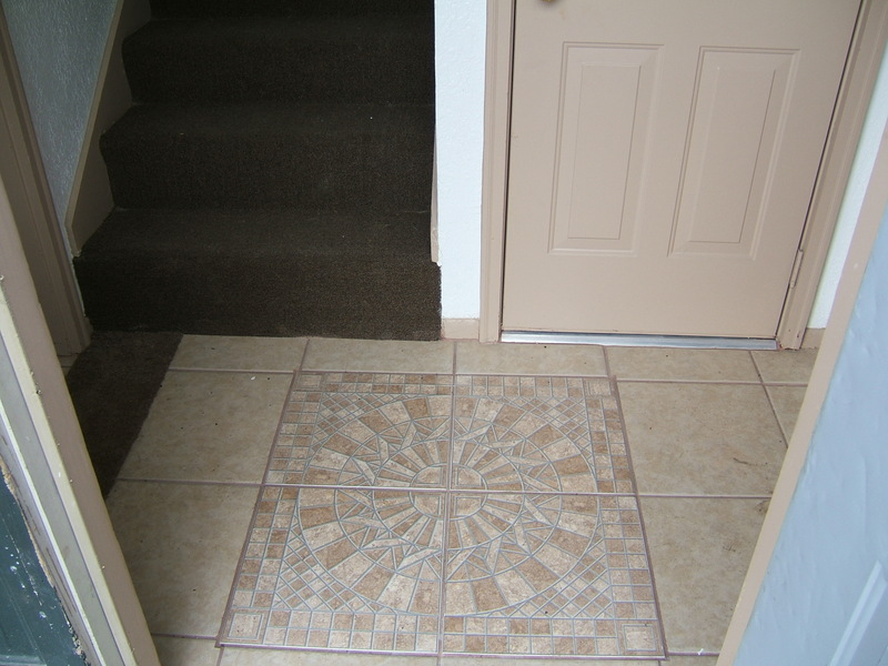 Tile Entry To Hall Area
