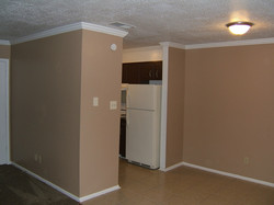 2 Bedrom Dinning and Kitchen Entry